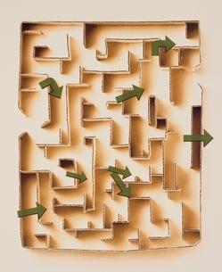 迷路の写真素材 [FYI03162966]
