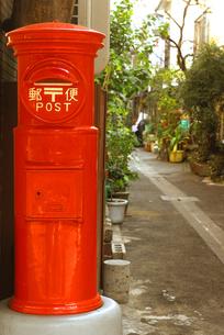 郵便ポストの写真素材 [FYI03163527]
