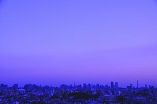 文京区と新宿区の街並みの写真素材 [FYI03163670]