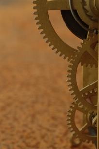 時計の部品の写真素材 [FYI03163962]