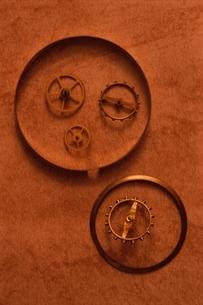 腕時計の部品の写真素材 [FYI03163965]
