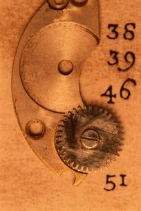 時計の部品の写真素材 [FYI03163966]