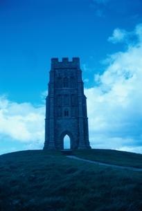 Glastonbury Tor,Somerset,Englandの写真素材 [FYI03163981]