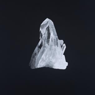 水晶 B/Wの写真素材 [FYI03164032]