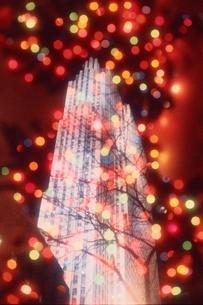 クリスマスイルミネーションの写真素材 [FYI03164148]