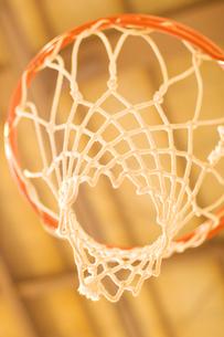バスケットのリングの写真素材 [FYI03164388]