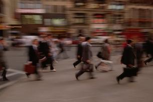 通勤するビジネスマン ニューヨーク アメリカの写真素材 [FYI03164973]