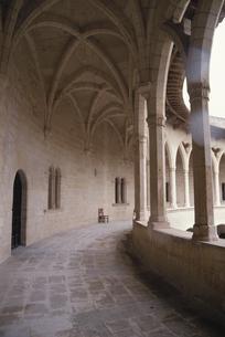 ベイベール城の廊下 マヨルカ島 スペインの写真素材 [FYI03165903]