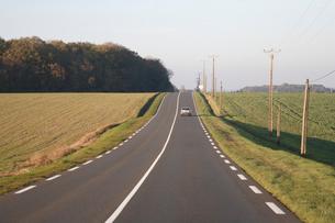 ロワールの道の写真素材 [FYI03166024]