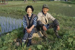 農村夫婦の写真素材 [FYI03166348]