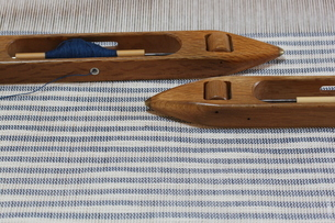 織作業の棉織物の写真素材 [FYI03166539]