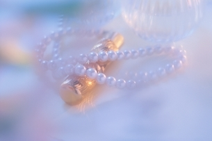 真珠のネックレスの写真素材 [FYI03166588]