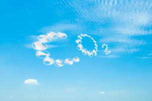 青空に文字CO2のイラスト素材 [FYI03166844]