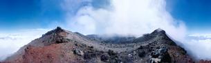 富士山の山頂  静岡県の写真素材 [FYI03168063]