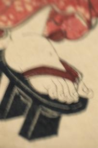 下駄を履いた足   三代豊国の作品のイラスト素材 [FYI03168092]