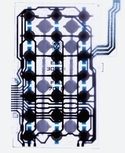 機械部品 透過光の写真素材 [FYI03168227]