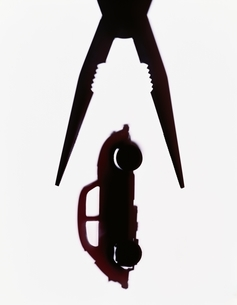 車とペンチの写真素材 [FYI03168231]