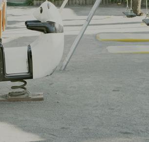 公園にあるパンダの乗り物の写真素材 [FYI03169169]