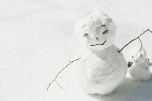雪だるまの写真素材 [FYI03169255]