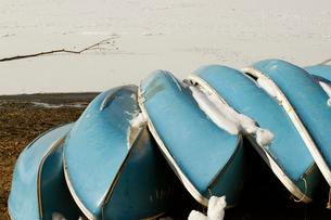 山中湖畔のローボートの写真素材 [FYI03169544]