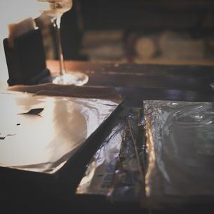 レコードジャケットの写真素材 [FYI03169564]