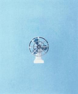 レトロの扇風機の模型の写真素材 [FYI03169609]