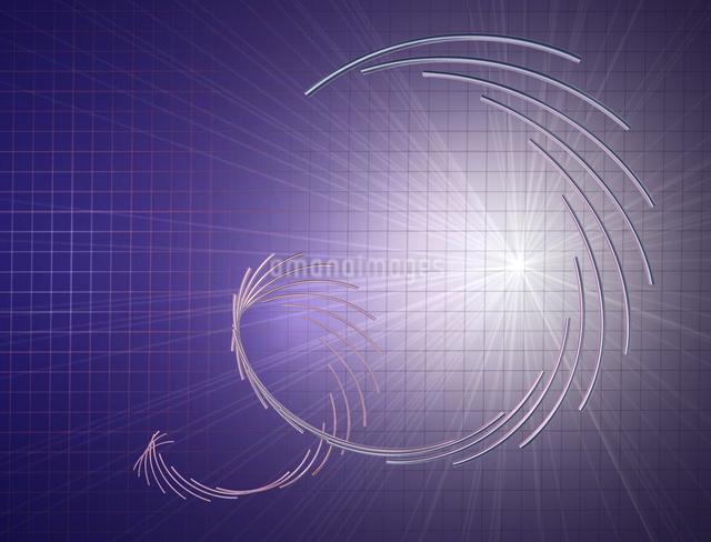 回転する金属の棒イメージCGの写真素材 [FYI03170014]