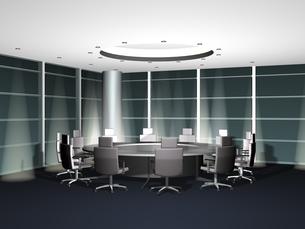 バーチャル会議室(3DCG)の写真素材 [FYI03170016]