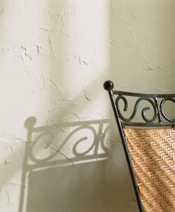 ラタンのいすの写真素材 [FYI03170356]