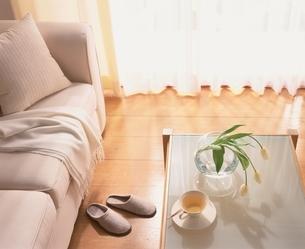 ソファとテーブルの写真素材 [FYI03170367]