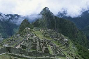 マチュピチュ遺跡 ペルーの写真素材 [FYI03171200]