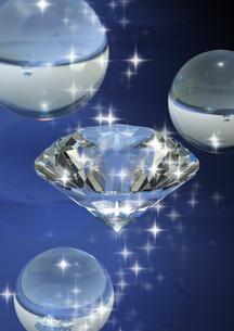 ダイヤモンドと光の写真素材 [FYI03171293]