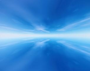 青い空と雲 CGの写真素材 [FYI03171362]