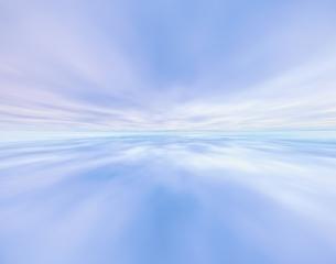 淡い紫の雲と空 CGの写真素材 [FYI03171365]