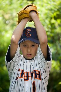 少年野球のピッチャーの写真素材 [FYI03171628]