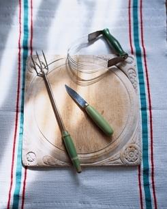 キッチンイメージ 50-60年代のイギリスの古いキッチン道具の写真素材 [FYI03171775]