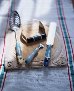 キッチンイメージ 50-60年代のイギリスの古いキッチン道具の写真素材 [FYI03171781]