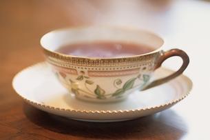 ティーカップとソーサー(Royal Coprnhagen)の写真素材 [FYI03171812]
