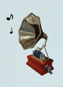 蓄音機 CGのイラスト素材 [FYI03172057]