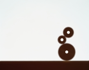 3つの歯車のイラスト素材 [FYI03172137]