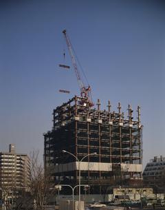 工事中のビル   東京都の写真素材 [FYI03172138]