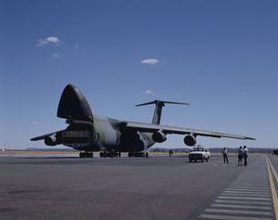 米空軍の輸送機「ギャラクシー」の写真素材 [FYI03172170]