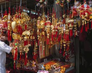 土産屋の店先  香港の写真素材 [FYI03172180]