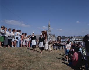 グランパルドン祭り   ブルターニュ地方 フランスの写真素材 [FYI03172199]