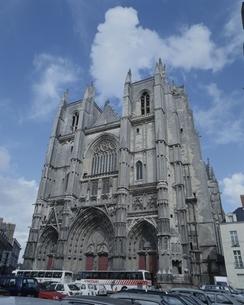 サン・ピエール・サンポール寺 ナント フランスの写真素材 [FYI03172202]