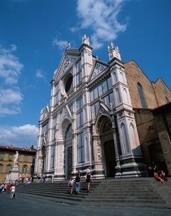 サンタ・クローチェ教会   フィレンツェ イタリアの写真素材 [FYI03172278]