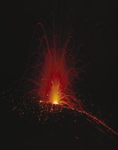 駒ヶ岳の噴火 秋田県の写真素材 [FYI03172341]