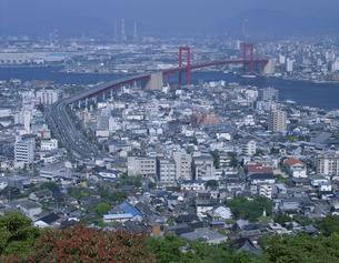 若戸大橋 福岡県の写真素材 [FYI03172471]