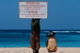 ヌサドゥアビーチ   バリ島の写真素材 [FYI03173063]