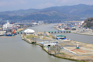石巻・震災から一年の写真素材 [FYI03173614]